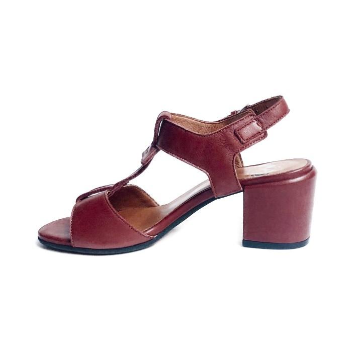 Sandale A Peau De Cuir Fleur lKJTcF1
