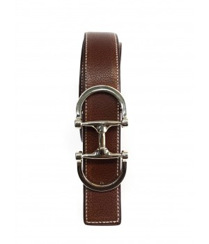 Ceintures Ceinture sur mesure marron/orange