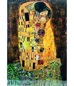 Écharpes Étole Réversible : Klimt Le Baiser