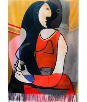 Écharpes Étole Réversible : Picasso