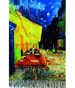 Écharpes Etole réversible : Van Gogh