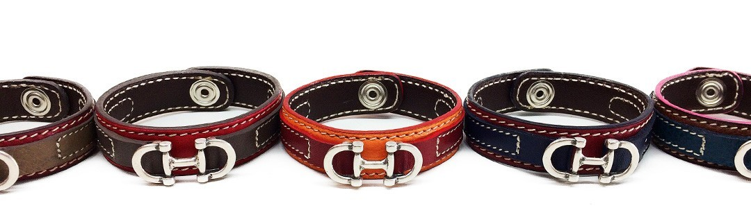Bracelets mixtes en taurillon pleine fleur | Matias Mercapide