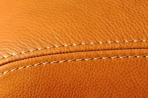 Gros plan sur les détails du cuir